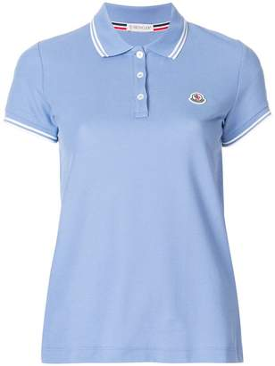 d0c711eaae83 Moncler Blue Polo Shirts For Women - ShopStyle UK