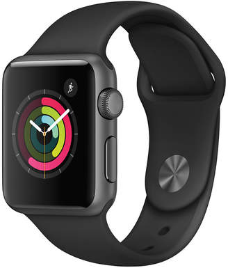 Apple Watch Series 1 38mm Space Gray Aluminum Case with Black Sport Band $269 thestylecure.com