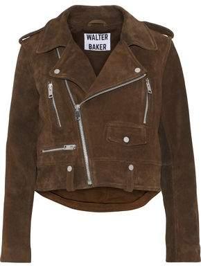Walter W118 By Baker Darrin Suede Biker Jacket