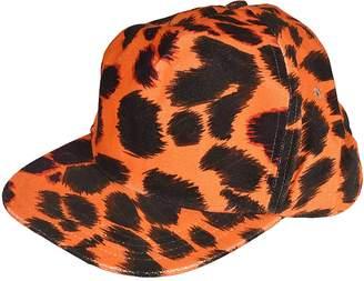 R 13 Leopard Print Cap
