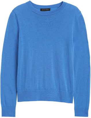 Banana Republic Washable Merino Crew Sweater-Neck Sweater