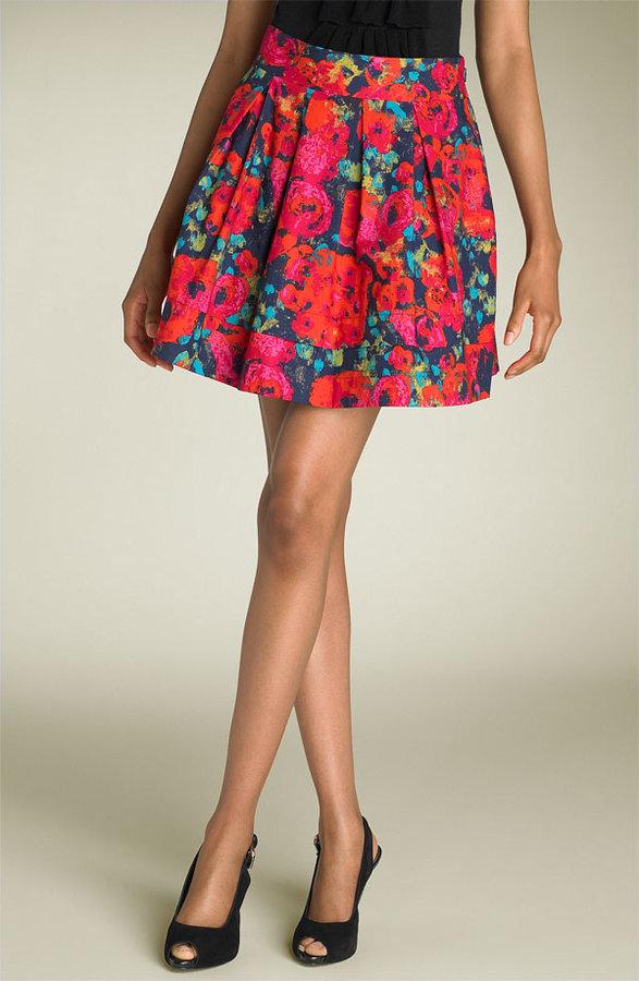 Hinge® Rose Print Skirt