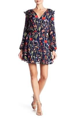 Parker Long Sleeve Floral Print Dress