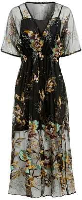 Sarvin - Natalie Embellished Midi Dress