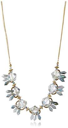Leslie Danzis Faceted Tulip Beaded Necklace