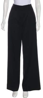 Kenzo Wool High-Rise Pants
