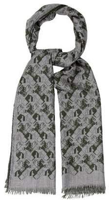 Hermes Courbettes Cashmere Silk Muffler w/ Tags