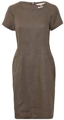 PART TWO Aundreas Linen Sheath Dress