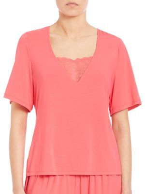 Cosabella Relaxed-Fit Short-Sleeve Top
