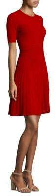 BOSS Frida Short Sleeves A-Line Dress