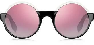 Marc Jacobs Eyewear contrast round sunglasses