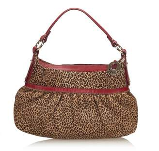 Fendi Vintage Leopard Print Pony Hair Chef