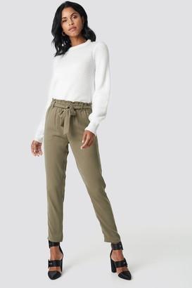 NA-KD Na Kd Tied Waist Pants Black