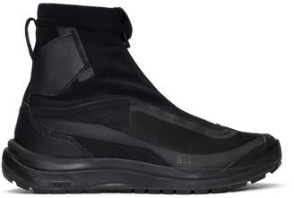 Boris Bidjan Saberi Black Salomon Edition Odyssey Bamba 2 Sneakers