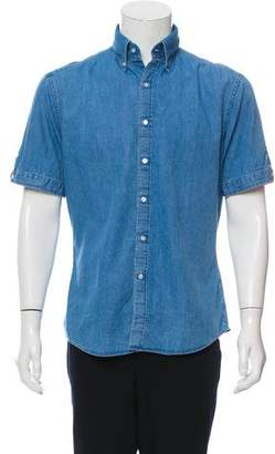 Michael Bastian Chambray Button-Up Shirt w/ Tags