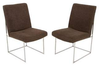 Thayer Coggin Milo Baughman Upholstered Dining Chairs