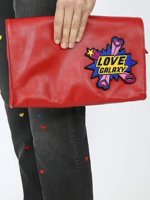 Yazbukey Love galaxy plexi evening bag