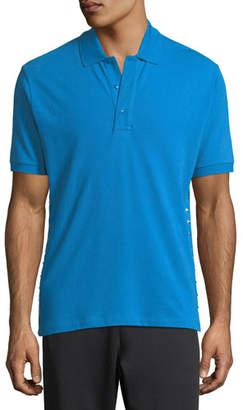 Valentino Rockstud Jersey Polo Shirt