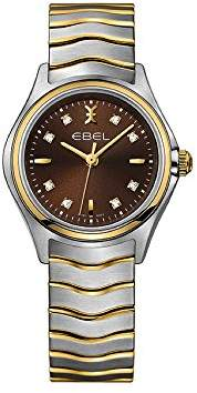 Ebel Womens Analogue Classic Quartz Watch with Stainless Steel Strap 1216318