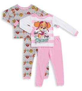 AME Sleepwear Little Girl's Paw Patrol Pajama Set of Two