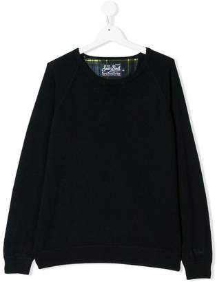MC2 Saint Barth Kids TEEN crew neck sweater