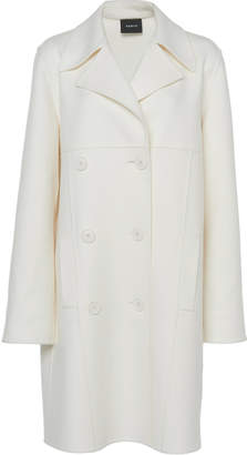 Akris Elu Double-Breasted Cashmere Coat