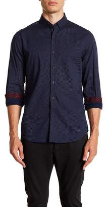 Report Collection Small Geo Slim Fit Shirt