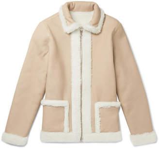 Officine Generale Reversible Shearling Jacket