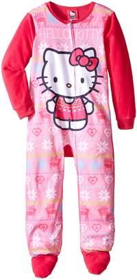 Hello Kitty Big Girls' Fleece Blanket Sleeper