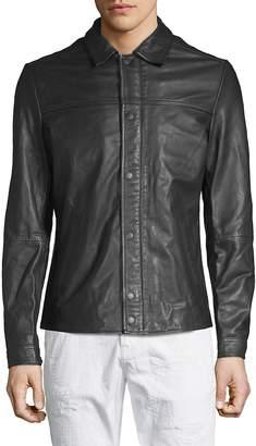Scotch & Soda Men's Classic Leather Jacket