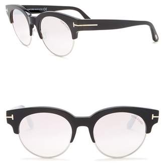 aafec0d037 Tom Ford Henri 52mm Semi-Rimless Sunglasses