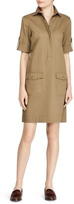 Lauren Ralph Lauren Utility Shirt Dress $125 thestylecure.com