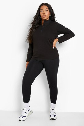 boohoo Plus Thigh Waist Sculpt Legging