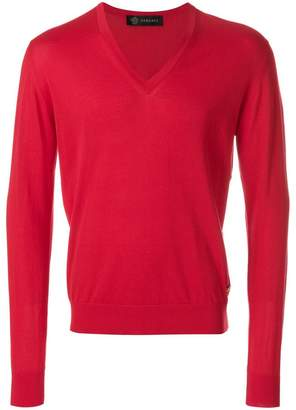Versace V-neck jumper