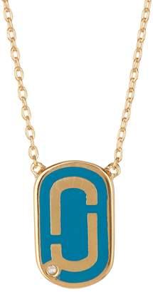Marc Jacobs Logo Pendant Necklace
