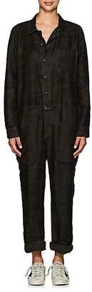 NSF Women's Dita Camouflage Micro-Piqué Jumpsuit