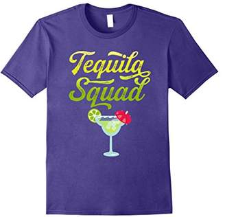 Funny Tequila Squad Novelty T-Shirt