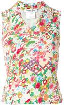 Christian Dior 花卉印花