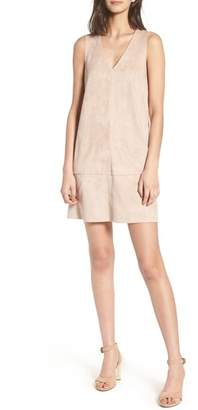 BISHOP AND YOUNG Bishop + Young Faux Suede Shift Dress