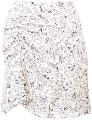 Derek Lam 10 Crosby Skirt with Ruched Detail