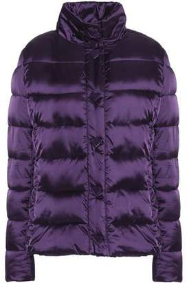 Love Moschino Quilted Shell Down Coat