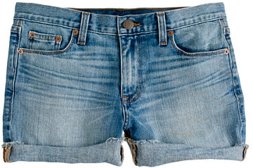 J.Crew Denim short in patina wash