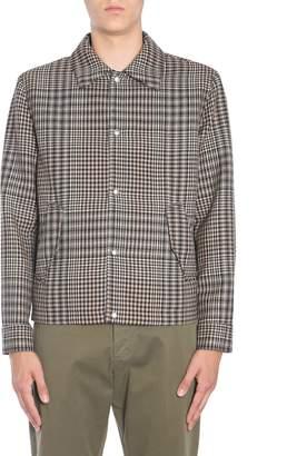 Ami Alexandre Mattiussi Prince Of Wales Wool Jacket