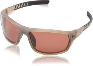 Under Armour Men's Polarized Ranger 8630061-232328 Brown Wrap Sunglasses