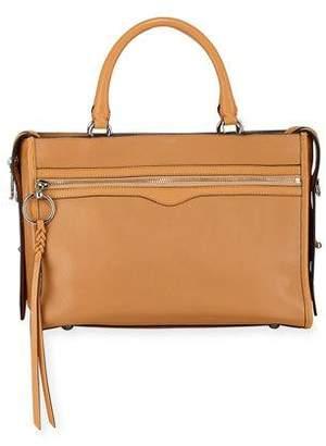 Rebecca Minkoff Bedford Leather Zip Satchel Bag