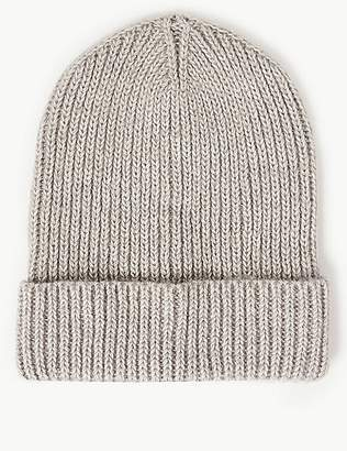 Marks and Spencer Cotton Rich Beanie Hat