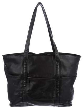 Tumi Leather Zip Tote Black Leather Zip Tote