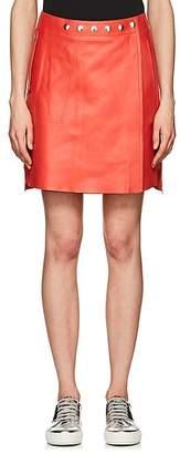 Acne Studios Women's Shirin Lambskin Miniskirt