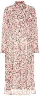Etoile Isabel Marant Isabel Marant, étoile Eliane floral cotton shirt dress