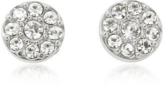 Fossil Vintage Glitz Silvertone Women's Earrings